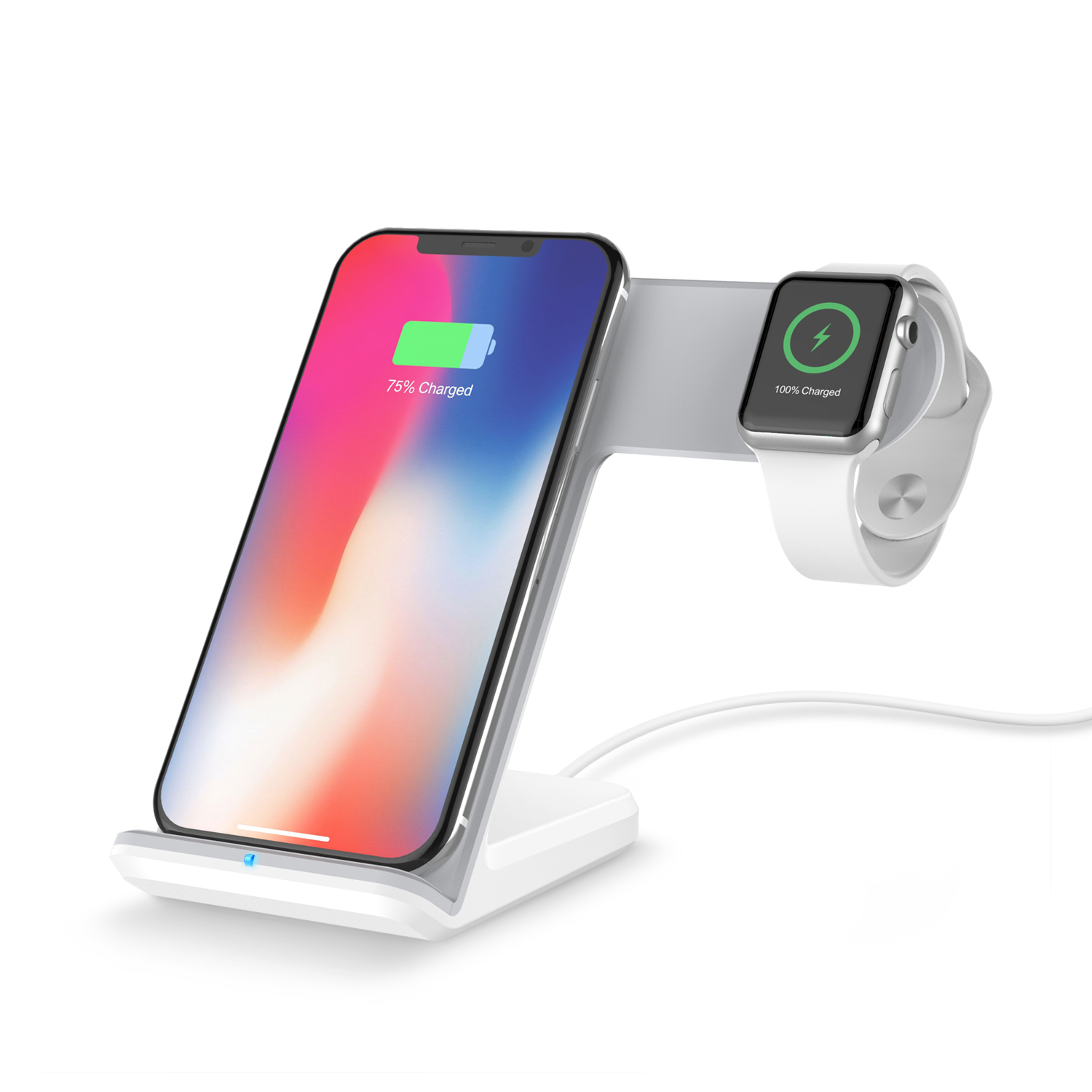 2 in 1 Fast Wireless Charger