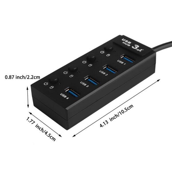 4-Port USB 3.0 SuperSpeed Hub