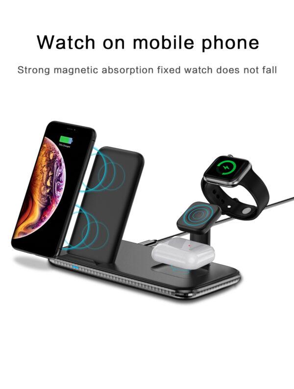 4 in 1 15W QI Fast Wireless Charging