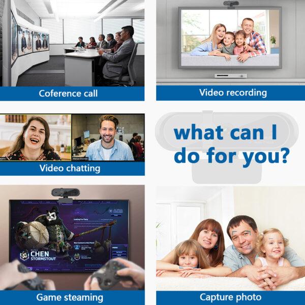 Private Design 1080P Full HD External Webcam