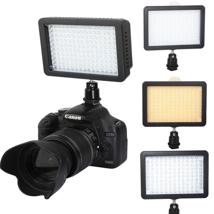 High lumen 160 pcs led light for video shoot