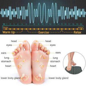 EMS foot massage mat