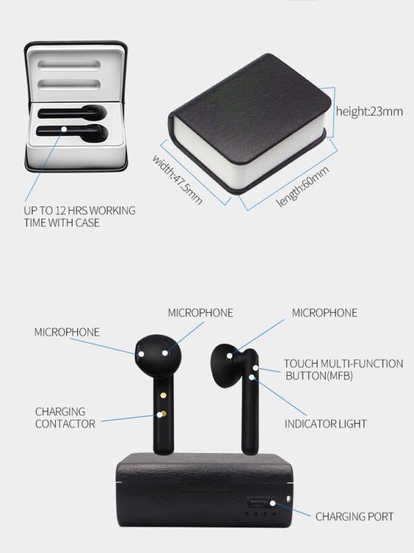 TWS Stereo Headphones (2)