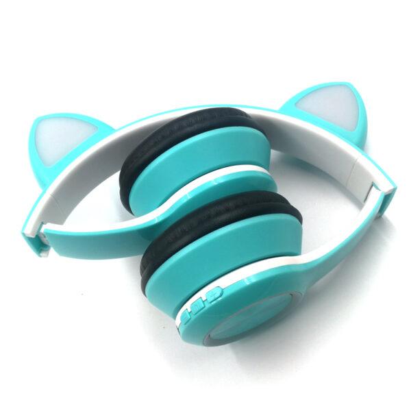 Cat Ear Led Wireless headphone