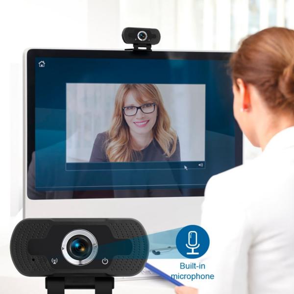 Webcamera Laptop USB Webcam (1)