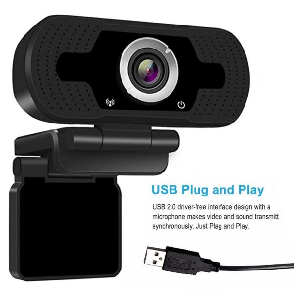 Webcamera Laptop USB Webcam (2)