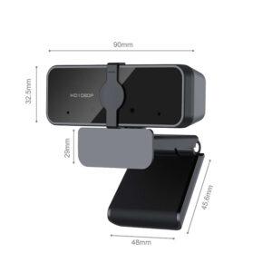 webcam size