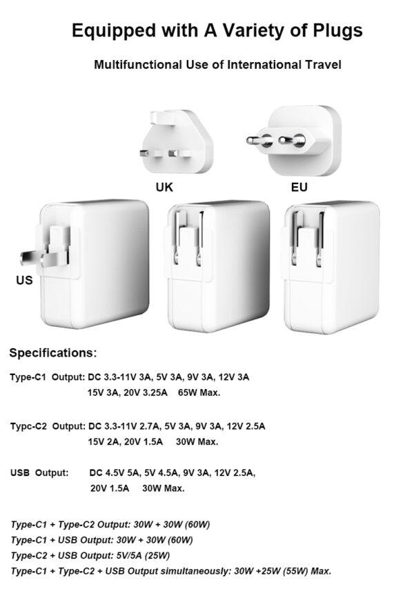 Mini Wall USB Charger (4)