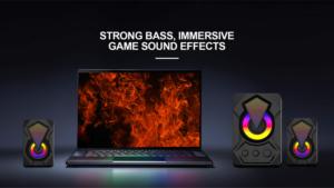 Gaming Speaker OEM Manufacturer USB PC Gaming RGB Wired 2.0 Computer Speakers