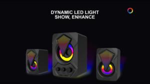 Gaming Speaker OEM ODM Manufacturer USB PC Gaming RGB Wired Speakers